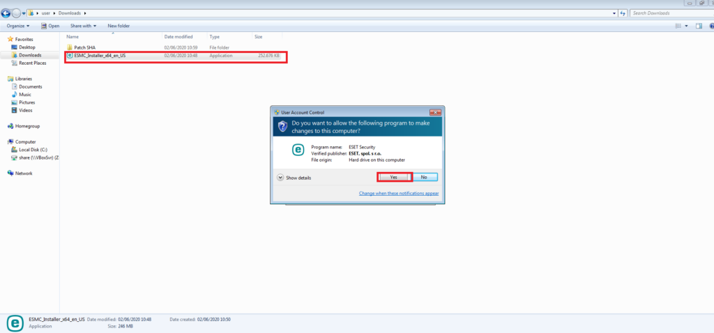 Install-endpoint-eset